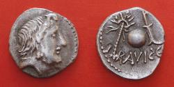 Ancient Coins - ILLYRIUS AND EPIRUS, celtic denarius