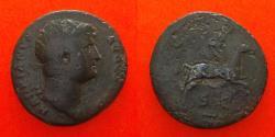 Ancient Coins - Hadrian AD 117-118. Rome, dupondius