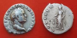 Ancient Coins - VESPASIAN (69-79), denarius