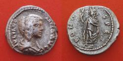 Ancient Coins - Julia Domna (194-217) Rome,  Denarius  R!