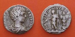 Ancient Coins - Caracalla (196-217) Denarius , Rome. R!