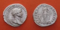 Ancient Coins - Trajan 98- 117 Denarius, Rome