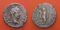 Ancient Coins - Geta 209-211. Denarius , Rome