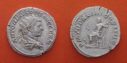 Ancient Coins - Caracalla 197-217 Denarius, Rome.  R!