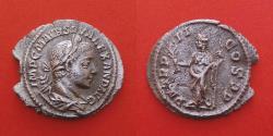Ancient Coins - Severus Alexander (222-235). Denarius. Rome.