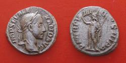 Ancient Coins - SEVERUS ALEXANDER, AD 222-235. Denarius, Rome, AD 230.