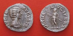 Ancient Coins - JULIA DOMNA AVGVSTA  (193-217) Laodicea ad mare. RRR, denarius