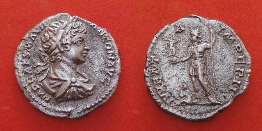 Ancient Coins - CARACALLA (198-217) DENARIUS