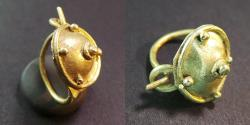Ancient Coins - Roman gold earring