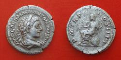 Ancient Coins - ELAGABALUS (218-222) Rome, denarius.