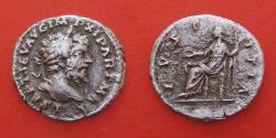 Ancient Coins - Septimius Severus, 193-211n. Chr. Denarius