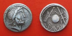 Ancient Coins - Celtic, Eastern Europe. After 75 BC, denarius