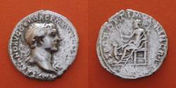 Ancient Coins - Trajan (98-117) Denarius, Rome.