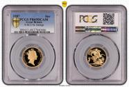 World Coins - Great Britain Elizabeth II 1987 Gold Sovereign Proof PCGS PR69 DCAM #37040006