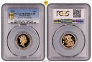World Coins - Great Britain Elizabeth II 1995 Gold Sovereign Proof PCGS PR69 DCAM #37040048