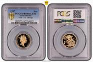 World Coins - Great Britain Elizabeth II 1997 Gold Sovereign Proof PCGS PR69 DCAM #37040055
