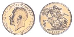 World Coins - South Africa 1923 SA Gold Sovereign Proof PCGS PR64 #84133660
