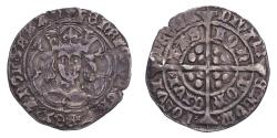 World Coins - Great Britain: England Henry VI ND (1438-43) Groat London VF