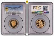 World Coins - Great Britain Elizabeth II 1999 Gold Sovereign Proof PCGS PR69 DCAM #37040079