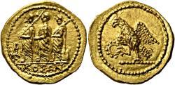 Ancient Coins - Scythian Dynasts Koson (c. 50-25 BC ?). AV Stater (8,45 g), Olbia (?).