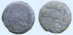 Ancient Coins - Republic, Anonymous, (c.211-207 B.C.), AE as,