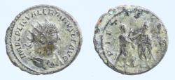 Ancient Coins - Valerian I. A.D. 253-260. AE antoninianus