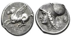 Ancient Coins - Acarnania, Argos Amphilochikon Stater circa 350-270
