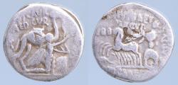 Ancient Coins - Roman Republic M. Aemilius Scaurus and P. Plautius Hypsaeus, moneyers