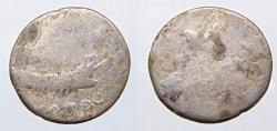Ancient Coins - Mark Antony Roman Republic  AR legionary Denarius 32-31 BC