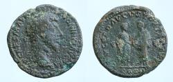 Ancient Coins - Marcus Aurelius, 161-180. Sestertius (Orichalcum, 32 mm, 23.84 g), Rome, 161.