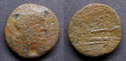 Ancient Coins - Roman Republic Æ Sextans. Corn-ear and KA series - Pedigree: RBW Collection