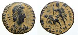 Ancient Coins - Constantius II Alexandria Gloria Exercitus 333-335 AD