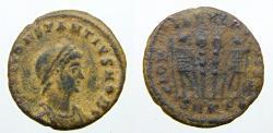 Ancient Coins - Constantius II Æ Follis. Nicomedia, AD 330-335.