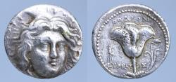 Ancient Coins - Rhodes Islands of Caria, Rhodos. Rhodes, c. 229-205 BC. AR Tetradrachm