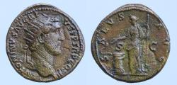 Ancient Coins - ANTONINUS PIUS (138-161). Dupondius. Rome.