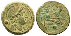 Ancient Coins - Uncia Republic Anonymous Rome c. 215-212 BC