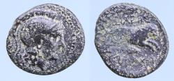 Ancient Coins - Thracian Kingdom. Lysimachos. As King, 306-281 B.C. AE