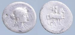Ancient Coins - M. Lepidus. Denarius 61