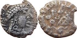 Ancient Coins - INDIA, SATAVAHANA EMPIRE: VASITHIPUTRA SRI SATAKARNI (c.118-147 AD), AR DRACHM