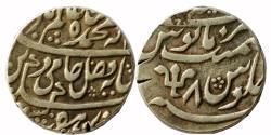 World Coins - BENGAL PRESIDENCY: AZIMABAD (=PATNA) MINT, AR RUPEE,