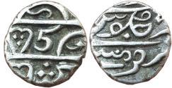 World Coins - INDIA, BOMBAY PRESIDENCY : MALABAR COAST, AR 1/5 RUPEE