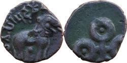 Ancient Coins - INDIA, SATAVAHANA EMPIRE:   VASISTHIPUTRA SIVA SRI PULUMAVI,  ALLOYED AE