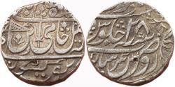 World Coins - MARATHA CONFEDERACY: AR RUPEE, (11.1G, 18MM), IN THE NAME OF  SHAH ALAM II, RAVISHNAGAR SAGAR