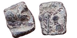 Ancient Coins - INDIA, ANCIENT DECCAN: LION & TREE TYPE, LEAD