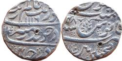 World Coins - INDIA, MUGHAL EMPIRE: AURANGZEB ALAMGIR, AH1068-1118/AD1658-1707, AR RUPEE, 11.48G, MACHHLIPATAN MINT,