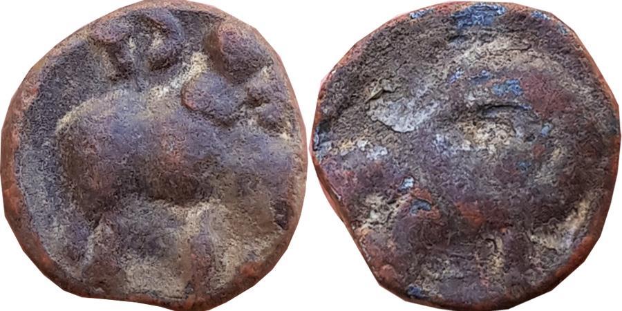 Ancient Coins - INDIA, IKSVAKU: VASISTHIPUTRE SRI EHAVALA CANTAMULA, LEAD,