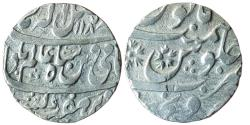 World Coins - INDIA, Indore Feudatory: Sironj, AR Rupee in the name of Shah Alam II,
