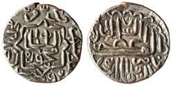 World Coins - INDIA, SULTANS OF GUJARAT: NASIR AL-DIN MAHMUD I (1458/9-1511 AD), AR ½ TANKA, MUHAMMADABAD CHAMPANIR