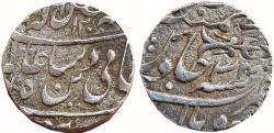 World Coins - BHOPAL: NAWAB HAYAT MUHAMMAD KHAN (1777-1808 AD), AR RUPEE, 11.0g, BHOPAL MINT