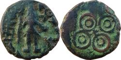 Ancient Coins - INDIA, UJJAIN: STANDING SIVA TYPE, AE